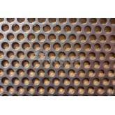 Blacha perforowana na wentylację 1,0/03-04/RV. 10cmx30cm