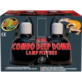 Lampa COMBO MINI DEEP DOME 2x100W ZOO MED