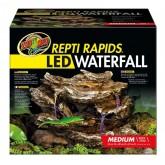 Wodospad ZOOMED Repti Rapids podświetlanie LED