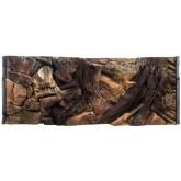 Ścianka do terrarium tło skała korzeń 3D 50x30cm