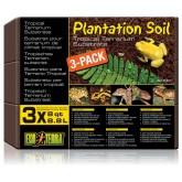 Torf 3szt 8,8L Plantation Soil EXO TERRA
