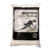 Piasek jadalny dla gadów pustynnych CaCo3 White 4kg KOMODO