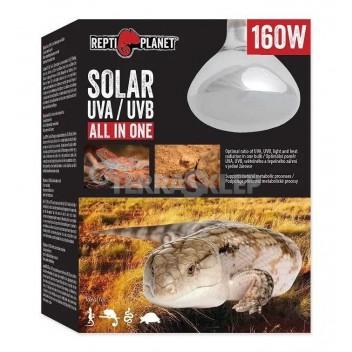Solar ALL IN ONE UVB/UVA/grzewcza 125W REPTI PLANET