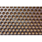 Blacha perforowana na wentylację 1/03-04/RV. 10cmx30cm