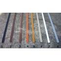 Prowadnice do szyb terrarium jednotorowa PCV - 100cm