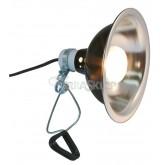Lampa z oprawką ceramiczną czarna 250mm ZOO MED