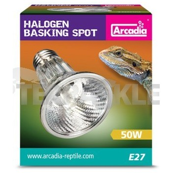 Halogen Basking Spotlight 50-100W ARCADIA